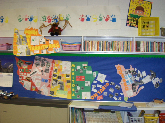 Map Of Canada For Elementary Students.Carman Elementary School Geography Of Canada